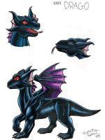 Baby Drago by CrazyRabidPony