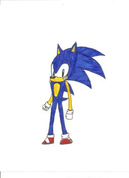 Sonic The Hedgehog by Excalibur5k