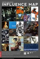 Mah Influence Map by martinhoulden