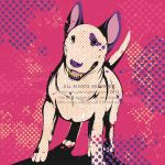 Bull terrier pop by Sabi-Arts
