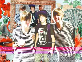 Justin Bieber 2 Wallpaper by heretoparty