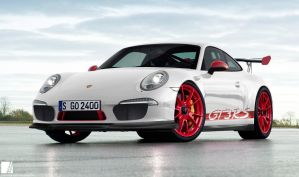 2014 Porsche 911 GT3 RS - Front by YogaBudiwCUSTOM