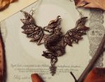 Autumn Deluxe Dragon Pendant by RegnumLaternis