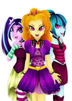 TheDazzlings by Scarlet-Spectrum