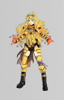 Yang Xiao Long - Armored Attire by ACGearmaker
