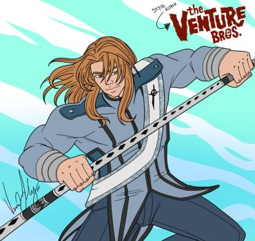 Style Hijack: The Venture Brothers Aiden Lancer by Vesenia