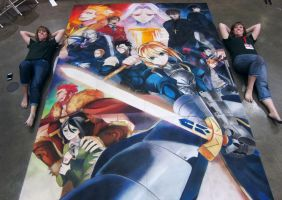 Fate/Zero and Artists by ChalkTwins