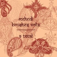 redLillith Mehndi set 6 by rL-Brushes