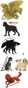 Supernatural Dogs Pt1 by Jeakilo