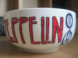 Led Zeppelin bowl II by BonaScottina