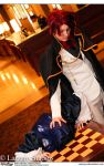 Umineko Cosplay: AB2k14: Battler vs Bernkastel by Maxieyi