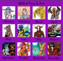 2010 year in art by Animal-and-anime-lvr