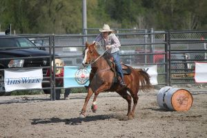Barrel Racing 3 by EquineStockImagery