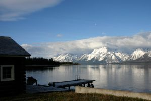 Wyoming Grand Tetons by L7CBastion