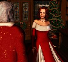 A Claus Wedding by Afina79