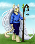 Commission for Anubiis_Werewolf - Soren by LaurenMagpie