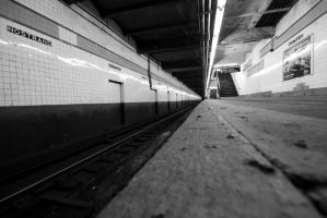 NYC Series - Nostrand Station by Katastrophey