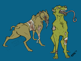Silent Hill Doggies by wolvenillusion
