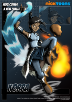 Nicktoons - Korra by NewEraOutlaw