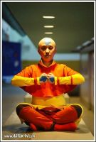 Aang from Avatar cosplay by chibi-eri