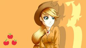 Applejack Wallpaper by ArucardPL