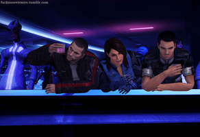 Clubbing, 1: at the bar by Forever-in-a-Day