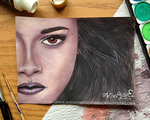 Watercolor: Breaking Dawn Part 2: Bella by OdieFarber