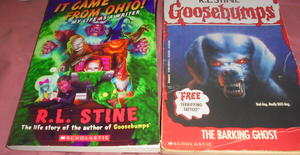 Goosebumps collection 4 by TMNTFAN85