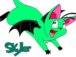Skyler by cartoonie1987