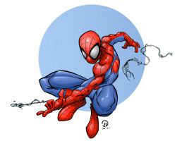 Spidey by Ruminus