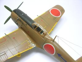1:72 Ki-84 Hayate V by Zero-Cannard