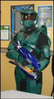 Carneval 2010 Master Chief 5 by ArmorCorpCustoms