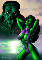 She-Hulk by DrewGardner