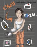 Chell is cool by Duplisgoof