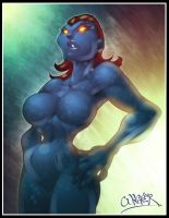 mystique by wagnerf