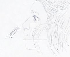 Girl profile (Hope) by Valion4