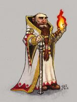 Dwarven Cleric by Da-Blue-Monkey
