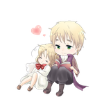 APH - Chibi canada and England by Mi-chan4649