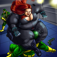 Big Black Widow's Bite by Ray-Norr