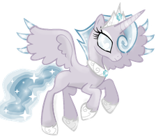 Princess Fantasia (Princess of the Ice Kingdom) by PinkPopcornWithSoda