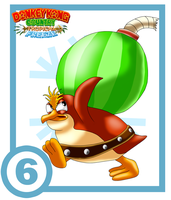 Snowmad Tuck Card #6 : Boom Bird by UncleLaurence