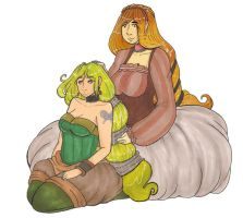 Ginny_and_Diana by JustMiri