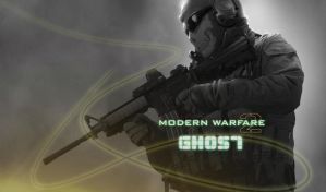 Modern Warfare 2 - Ghost by paaullL