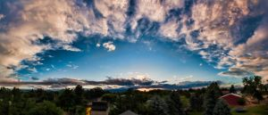 Rooftop Panorama by TPextonPhotography