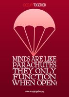Occupy Parachutes by twistedfunk