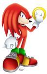 Knock knock, It's Knuckles! by VagabondWolves