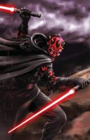 Mr Darth Maul by Oshouki