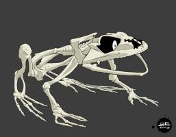 Bone Frog by Pandaphobia