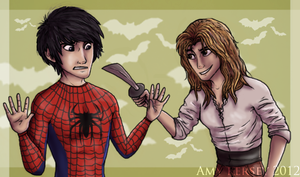 Spider-Fang and Maximum Swann- Contest Entry by Deesney