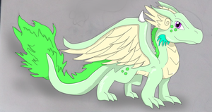 DiamondPokemon's Dragon hatched by MistrissTheHedgehog